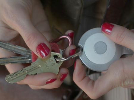 Gokey is one keyring to rule them all: charger, locator, flash storage, and cable