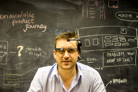 Control Google Glass with your mind