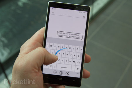 The main reason to upgrade to Windows Phone 8.1? The free Swiftkey-like WordFlow Keyboard