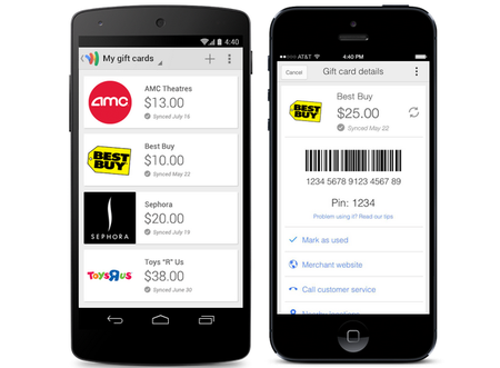 Leave those plastic cards at home: Google Wallet lets you add and redeem gift cards in US