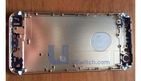Apple iPhone 6 photo leak shows rear logo could light up for notifications
