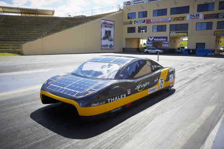 Forget about Tesla: Sunswift Eve is a solar-powered car that goes 87 mph
