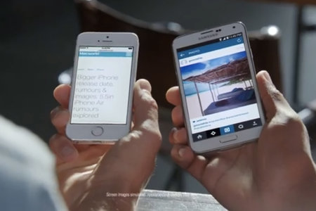 iPhone 6 gets abused by Samsung Galaxy S5 ad before even getting released