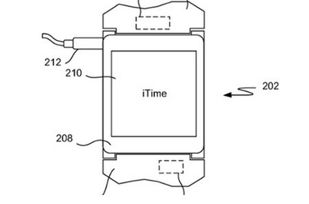 Apple's iWatch is actually called the iTime, reveals new patent