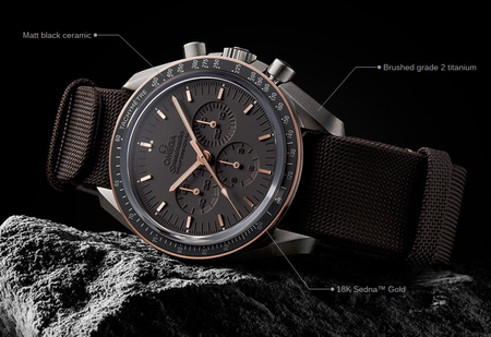 Is this the best looking Omega Speedmaster ever? Limited edition Moonwatch on sale for £5k