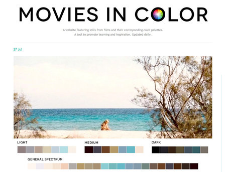 Website of the day: Movies in Color