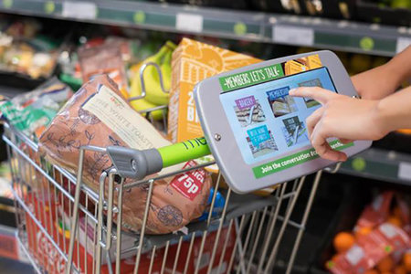 Co-op ops to pop tablets on its trolleys to quiz shoppers