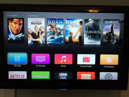 Apple TV beta brings iOS 7-style flat interface to set-top box