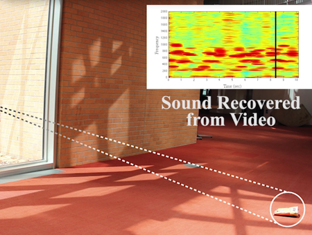 Microsoft and MIT researchers recover speech from potato chip bag, behind soundproof glass