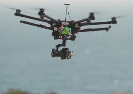 New DJI Spreading Wings S900 drone can carry a baby