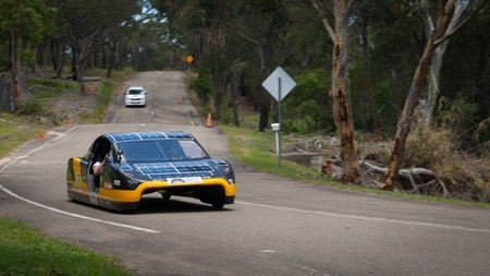 Solar cell breakthrough could let solar cars travel over 450 miles at a time
