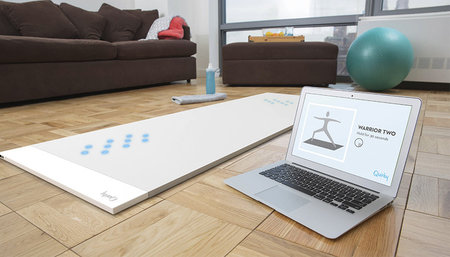 Beacon smart yoga mat teaches perfect technique by detecting weight distribution