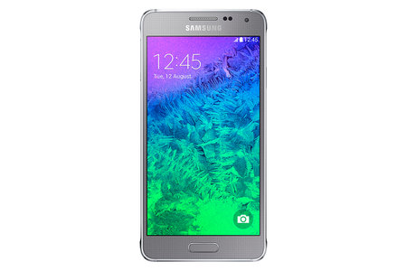 Metal Samsung Galaxy Alpha official: HR sensor, fingerprint reader, 300Mbps 4G LTE