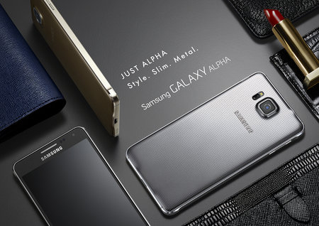 Metal Samsung Galaxy Alpha official: HR sensor, fingerprint reader, 300Mbps 4G LTE - photo 3