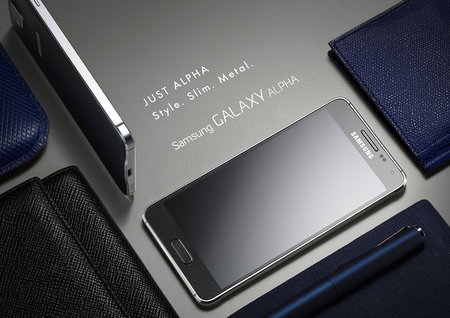 Metal Samsung Galaxy Alpha official: HR sensor, fingerprint reader, 300Mbps 4G LTE - photo 6