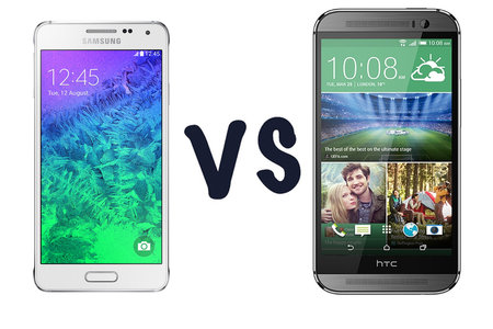 Samsung Galaxy Alpha vs HTC One M8: What's the difference?