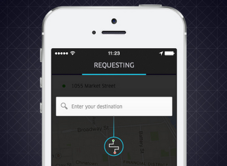 Uber's Destination Entry feature lets you skip telling the driver where to go