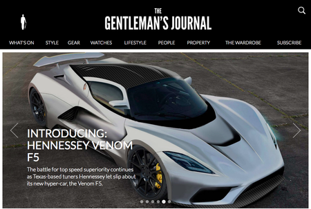 Website of the day: The Gentleman's Journal