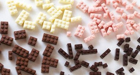 Chocolate Lego that you can eat is here to make tidying away bricks much more fun