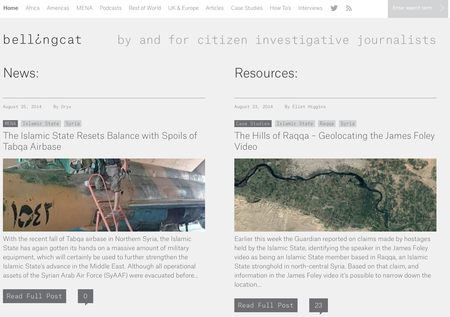 Website of the day: Bellingcat