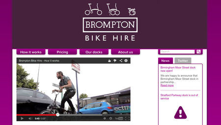 Website of the day: Brompton Dock