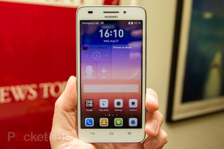 Huawei Ascend G620S hands-on: 5-inches of SGS5-alike on a budget