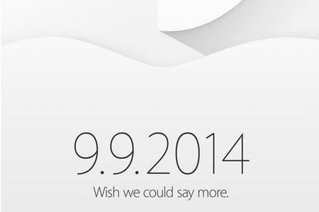Apple 9 September event invites out: New iPhone 6 and iWatch expected