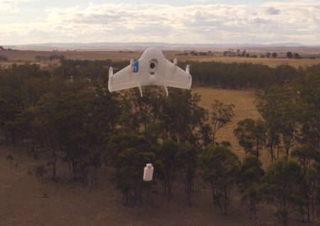Step aside, Amazon: Google has a drone-delivery program called Project Wing