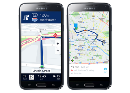 Nokia Here to launch on Android as Samsung Galaxy exclusive, will power Gear S maps too