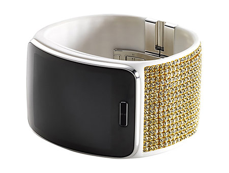 It's all about the bling say Samsung and LG as they adorn Gear S, Note 4 and OLED TV in Swarovski crystals