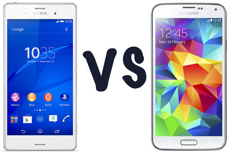 Sony Xperia Z3 vs Samsung Galaxy S5: What's the difference?