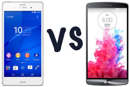 Sony Xperia Z3 vs LG G3: What's the difference?