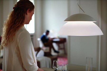 Philips Hue Beyond is a new table light, ceiling light, or pendant light, with kits starting at £329