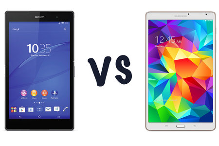 Sony Xperia Z3 Tablet Compact vs Samsung Galaxy Tab S 8.4: What's the difference?
