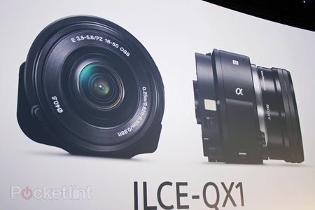 Sony announces QX1 and QX30 lens-style cameras, updates PlayMemories Mobile