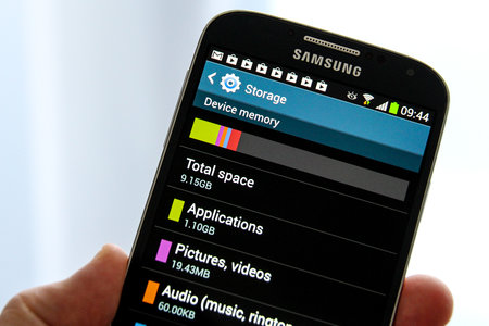 Samsung looking to release more Galaxy S4 on-board storage to the user, through software optimisation
