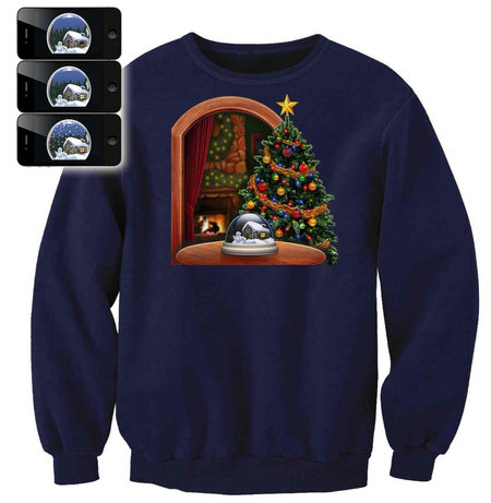 Digital Dudz smartphone-enhanced Christmas jumpers: Be the talk of the office party - photo 6