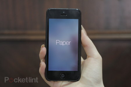 Hands-on: Paper by Facebook (iPhone) review‏