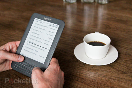 Amazon Kindle Wi-Fi hands-on