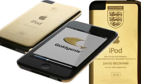 Win a gold iPod touch