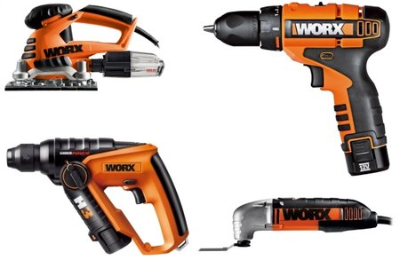 Win a Worx Icon power tool kit
