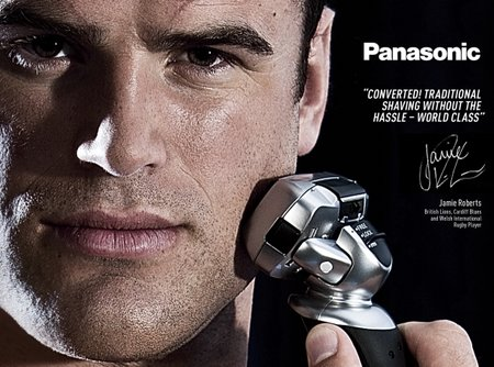 Win a Panasonic 5-blade wet/dry shaver ES-LV61