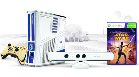 Win an Xbox 360 Kinect Star Wars console bundle