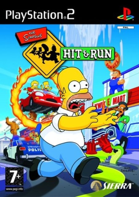 The Simpsons Hit and Run - PS2