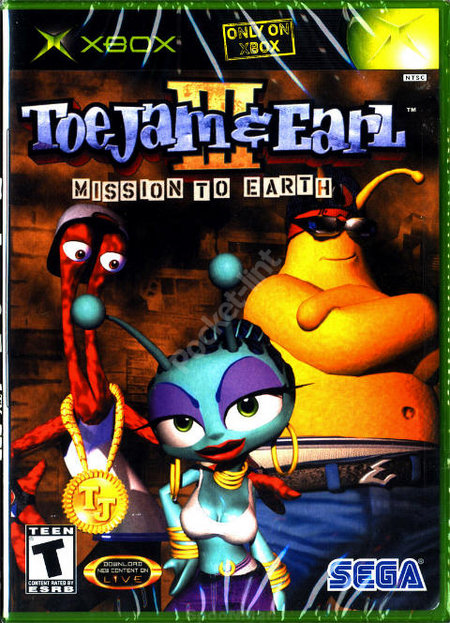 Toe Jam and Earl III – Mission to Earth - Xbox