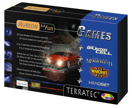TerraTec Aureon 5.1 Fun - Games review