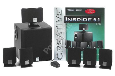 Creative Inspire 6.1 6700 speakers review