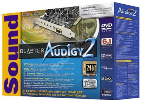 Creative SoundBlaster Audigy 2 review