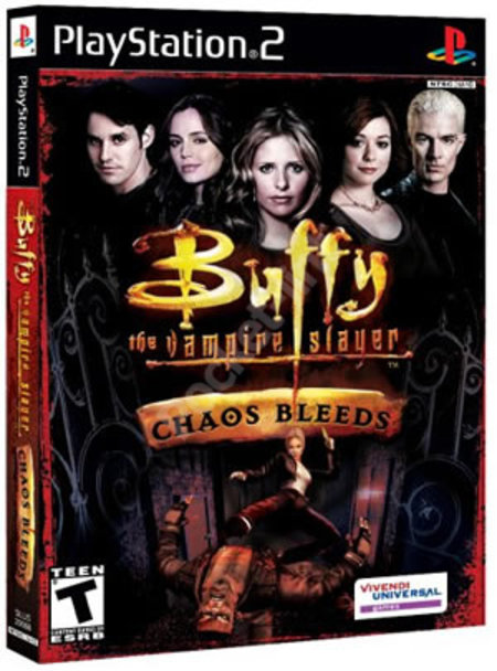 Buffy the Vampire Slayer: Chaos Bleeds - PS2