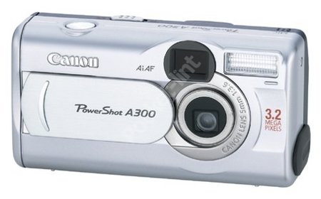 Canon Powershot A300 review